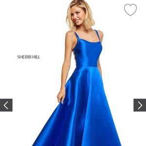 Royal blue Sheri Hill dress✨
